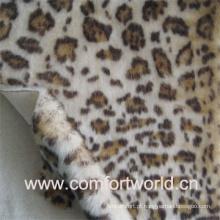 Pele de leopardo impressão