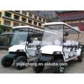 Сертификат CE фабрики Китая электрическая тележка гольфа 6 мест