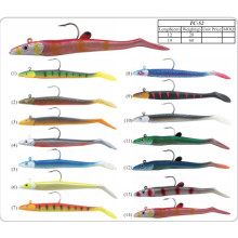 Fishing Jig Head with Soft Bait Lure