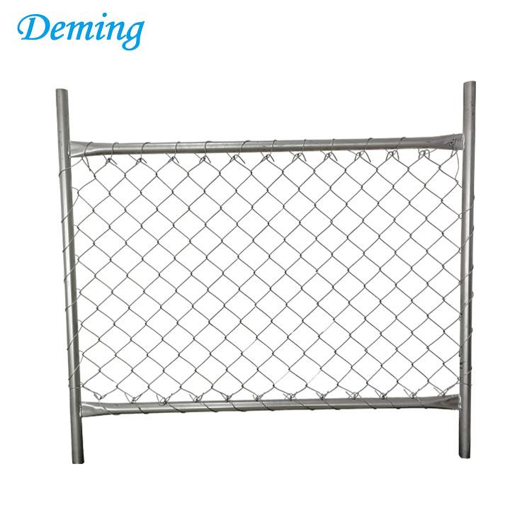 Anping Deming Factory hohe Qualität Kette Link temporäre Zaun Bilder ...