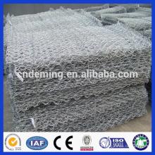 PVC coated gabion boxes / Gabion baskets / Galvanized gabion for sale