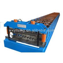 YTSING-YD-4012 Pass CE et rouleau métallique ISO Roll formant la machine, rouleau de toiture métallique formant la machine