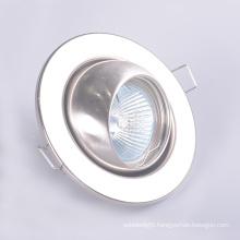 Gu10 Mr16 Beam Angle Adjustable Indoor Halogen Recessed Down Light Fixtures