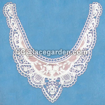 Mesh Embroidery Chemical Lace Motive