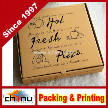 Impreso caja de pizza corrugada (1311)