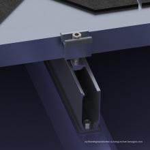 Олово алюминиевый Солнечной системы крыши 20КВТ металлическую крышу солнечной установки