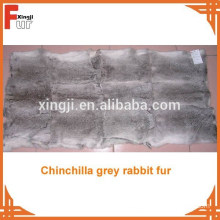 Natural Long Hair Rabbit Skin Plate