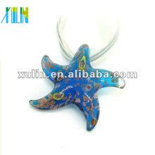 Perles de verre au chalumeau étoiles ensoleillées en vrac