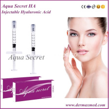 Hyaluronat Acid Injection Dermal Filler Treatment