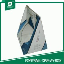 Caixas de exibição padrão para futebol