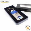 Porte-clés en métal de conception personnalisée haut de gamme