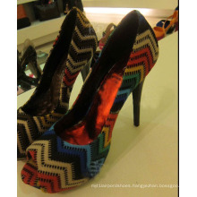 High Heel Ladies Sandals (HS13-058)