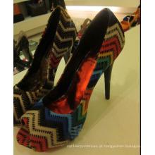 Sandálias das Senhoras de Salto Alto (HS13-058)