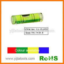 tubular level vial with ROHS standard YJ-SL0721