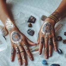 Хной временные татуировки бумаги