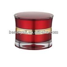 Venta al por mayor jarras acrílicas para cosméticos