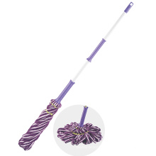 126*30*26cm Purple Convenient Magic Microfiber Twist Mop Head For Floor Cleaning