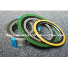 Spiral Wound Gaskes with Inner and Outer Ring, Swg Gaskets (Sunwell)