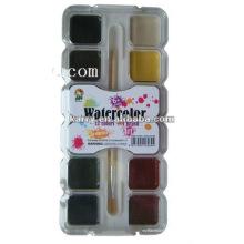 12c 20mm Quadrat feucht trocken Wasserfarbe malen