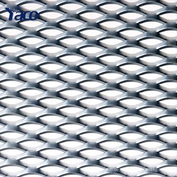 Kunststoffbeschichtetes kleines Loch Stahl Streckmetall für Anrufgrills