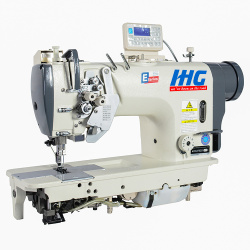 High-Speed Computerized Single Needle Lockstitch Sewing Machine With Auto Thread Thrimmer Foot Lifter