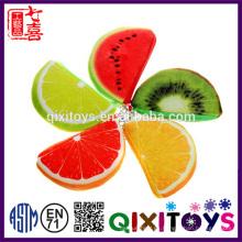 Nuevos diseños de frutas creativas pequeños monederos