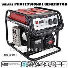 Conjunto de gerador SC4000-II 60Hz 7.5HP para uso doméstico