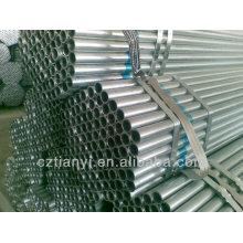 Fabricantes 20 pulgadas de tubo de acero galvanizado