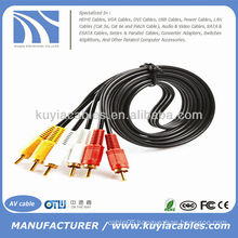 3RCA To 3RCA cable male to male 1.5m