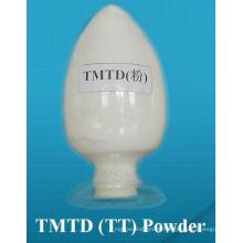Oferta de Fábrica Tetrametiltiuram Disulfeto (TMTD) CAS137-26-8