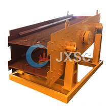 Mining process sand vibrating screen for separating