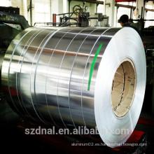 Acabado de molino buena superficie 1mm 2mm 3mm aluminio roll fabricante