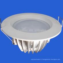 Moulage sous pression en aluminium 12w smd led downlight
