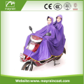 Polyester Large Size Adult Poncho for Biker