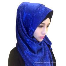 New Ladys haute qualité foulard en mousseline de tête longue Hijab musulman châle écharpe