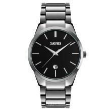 SKMEI 9140 Custom Logo Japan Movement Stainless Steel Waterproof Quartz Watches