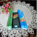 Colored household candle making supplies