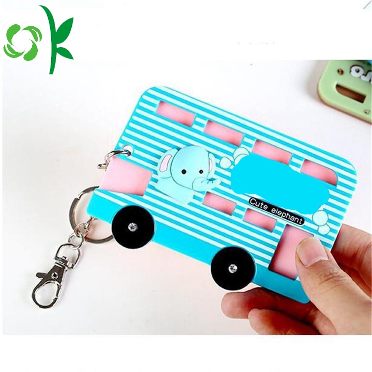 Cartoon Car Silicone Key Accessories