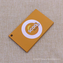 2015 Custom Printing Logo Metal Luggage Tags