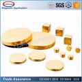 Topmag N52 Zn/Ni/NiCuNi/Gold Epoxy Coating Disc NdFeB Magnet