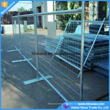 Reusable No dig fence / temporary fence / galvanize movable fence