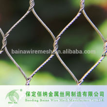 Animal enclosure zoo aviary mesh