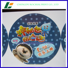 Factory price custom personalized logo circle packing sticker