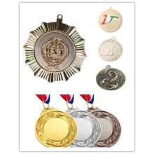 Cadeaux promotionnels Personnalisé Metal Sport Honour Award Ribbon Medal