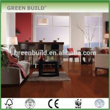 Flacher Laminat-Jatoba-Holzfußboden hergestellt in China