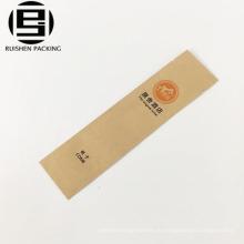 Офсетная печать еды крафт-бумаги с покрытием зубная щетка мешок постельных принадлежностей для отель