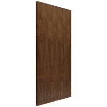 Modern 90min Fire Rated Solid Wood Veneer Exterior Flush Door
