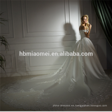 2018 color blanco vestido de novia de encaje de sirena con cordones vestido de novia vestido de novia