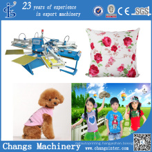 Custom Home Silk Screen Printing Tee Shirts Machine for Sale (SPE Series)