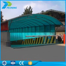 wholesale sun shade transparent polycarbonate car shelters